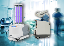 Hunter Spring provides specialized power cords, data reels, and spring solutions for sensitive governmental and military space projects, surgical robots, cleaning robots, UV disinfection units, mobile units, electrical hospital beds and x-ray machines
