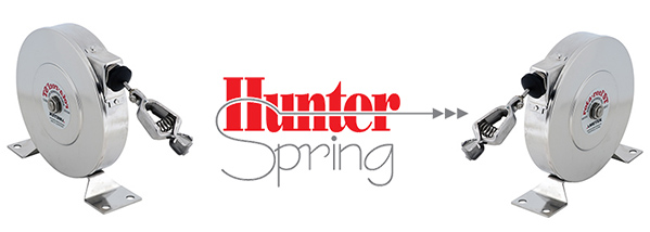 Hunter Spring Launches New Stainless Steel Static Grounding Reels