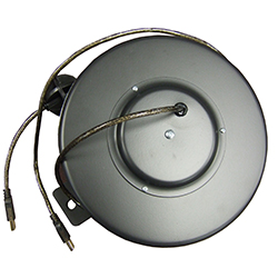 USB Retractable Data Cable Reels
