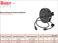 General Purpose Power Cords Selection Guide
